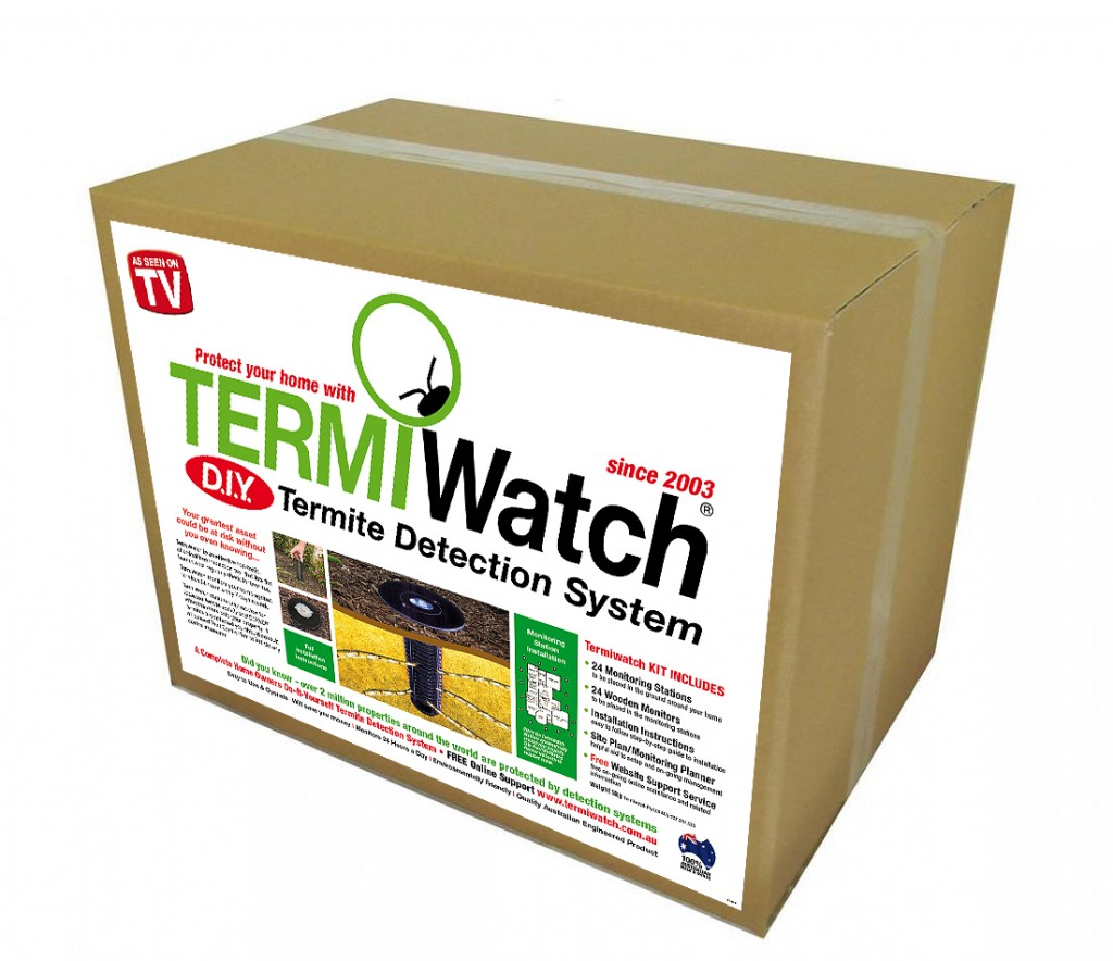 Termiwatch Box - termite monitoring and termite detection