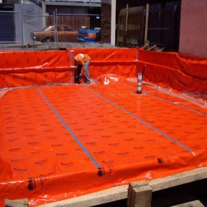 Kordon full underslab termite protection
