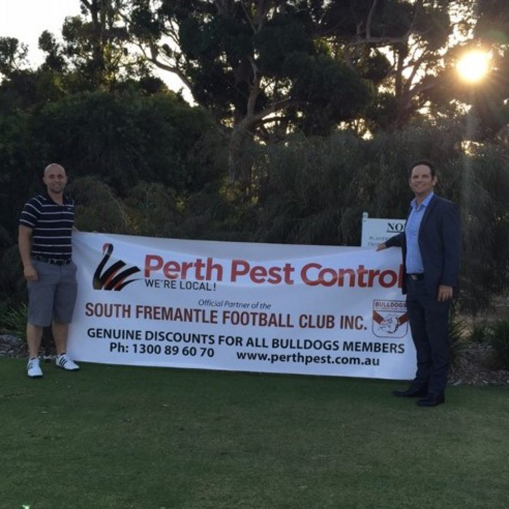 Perth Pest golf day sponsorship
