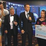 Telethon cheque 2014